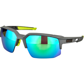 100% Speedcoupe Gafas, soft tact cool grey/multilayer mirror